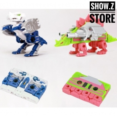 Robot Hero R-01 Durden & Barney Tape Cassette (Compatible with MP13 Soundwave)