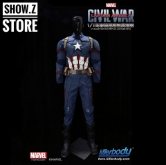 [Pre-Order] Killerbody Hero 1/1 Captain America Civil War Wearable Suit Cosplay Custom
