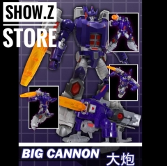 Open and Play Big Cannon Galvatron OpenPlay