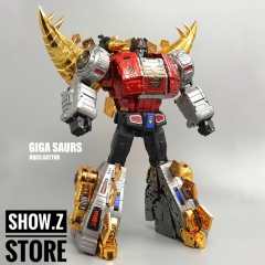 [Pre-Order] Gigapower HQ-03R Guttur Snarl Chrome Version Reissue