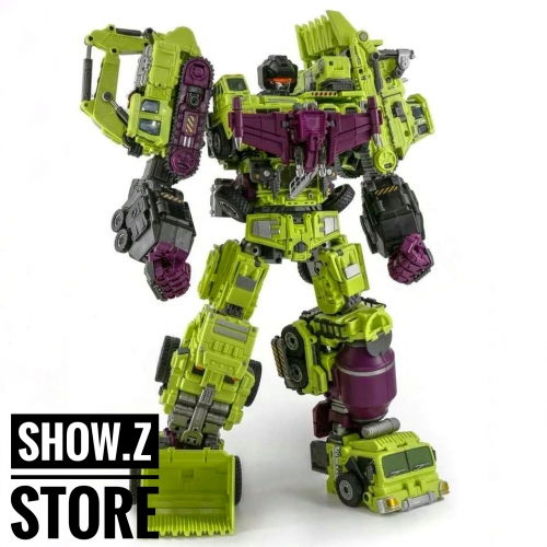 NBK Devastator TF Engineering Full Set of 6
