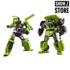[No Box] Jinbao Oversized Devastator Long Haul & Hook [Set C]