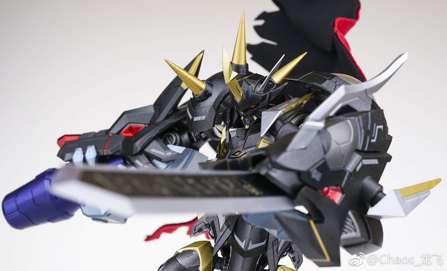 TungMung EX DM-01B Omegamon Omega-X Digital Monster Black