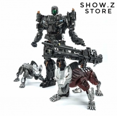 Visual Toys VT-01 Peru Kill AOE Lockdown w/ 2 Steeljaws