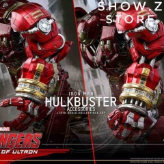 Hot Toys HT 1/6 Jackhammer Arm Accessory Set for Iron Man Hulkbuster ACS006 Avengers: Age of Ultron