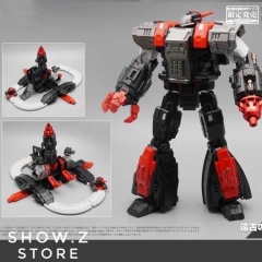 MechFansToys MF-34A Ancient Castle Giant Omega Supreme Special Black Version w/ DA-20
