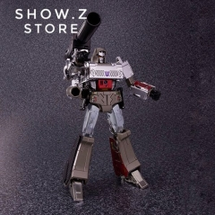 Takara TOMY Masterpiece MP-36+ MP36+ Megatron TakaraTomy Mall Exclusive Version w/ Commemorative Coins