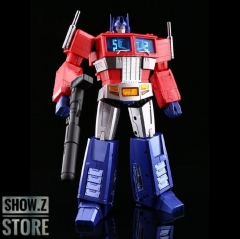 Magic Square MS MS-Toys MS-01X MS01X Light of Freedom Optimus Prime OP Metallic Version