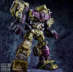 Jinbao Oversized Devastator Battle Damaged Version Full Set of 6 Gravity Builder