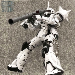 Metal Soldier MS 1/100 MS-06J MS06J Zaku II White Ogre Gundam Mobile Suit