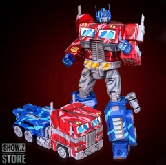 YueXing YX Transform World MMP-10E MMP10E Commander Optimus Prime OP Comic Cell Shaded Version