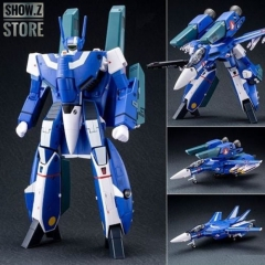 Valkyrie Factory VF 1/60 VF-1J Valkyrie Maximilian Jenius Custom Macross Robotech Blue Version w/ Super Space Part