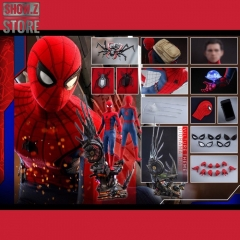 Hot Toys HotToys HT QS015 1/4 Spider-Man Homecoming Collectible Figure Deluxe Version