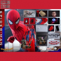 Hot Toys QS014 1/4 Spider-Man Homecoming Collectible Figure Standard Version
