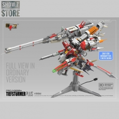 Mechanicore Hobby Studio 1/120 PROJ-0033+ 2.0 MSA-0011(Bst)303E Deep Striker Gundam Tief Sturmer Plus Camouflage Red Standard Version