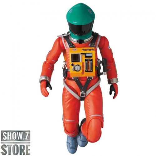MAFEX No.110 2001: A Space Odyssey Space Suit Green Helmet & Orange Suit Version