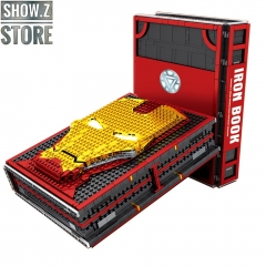 Sheng Yuan SY1361 Iron Book Iron Man Hall of Armor With Minifigures