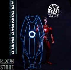 Toys Master 1/6 Nano Energy Shield for HT Iron Man MK85 w/ LED