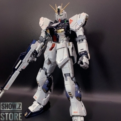 [SZ Custom] Bandai Custom MG 1/100 RX-93 Nu Gundam Ver.Ka w/ Custom Electroplated Chrome Painting