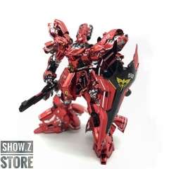 [SZ Custom] Bandai Custom MG 1/100 MSN-04 Sazabi Ver.Ka w/ Custom Electroplated Chrome Painting