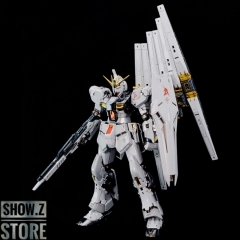 [SZ Custom] Bandai Custom RG 1/144 RX-93 Nu Gundam w/ Electroplated Chrome Painting