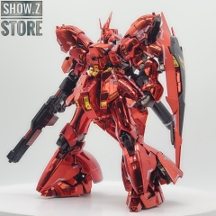 [Pre-Order][SZ Custom] Bandai Custom RG 1/144 MSN-04 Sazabi w/ Custom Electroplated Chrome Painting