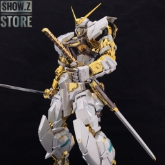 [SZ Custom] Nillson Work 1/60 MBF-P02 Gundam Astray Gold Frame w/ Electroplated Chrome Painting