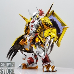 [SZ Custom] Bandai Digimon Figure-rise Standard Wargreymon Amplified Ver. w/ Electroplated Chrome Painting