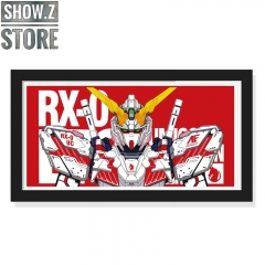 ChenFu Studio RX-0 Unicorn Gundam 3D Wall Art Decoration Picture
