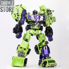 [Pre-Order] Generation Toy GT-99 Gravity Builder Devastator Metallic Painted Limited Version w/ Upgrade Kit