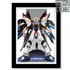 ChenFu Studio GAT-X105+AQM/E-X01 Aile Strike Gundam 3D Wall Art Decoration Picture