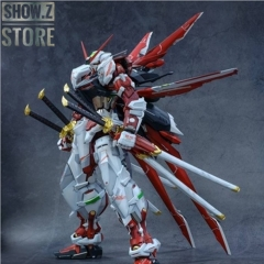 [Pre-Order] Nillson Work 1/60 MBF-P02 Gundam Astray Red Frame w/ Weapons & Jetpack