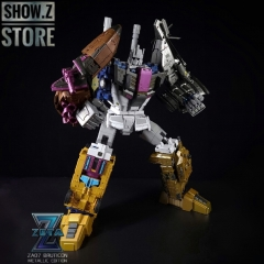 Zeta Toys ZA-07 Bruticon Bruticus Metallic Edition Full Set of 5