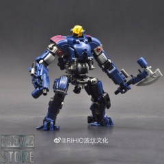 Rihio Multiabyss MM003 Mecha Vermin Slasher & Core Motorbike Blue Version