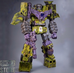Toyworld TW TW-C07G TWC07G Constructor Devastator Old Green Version Set of 6