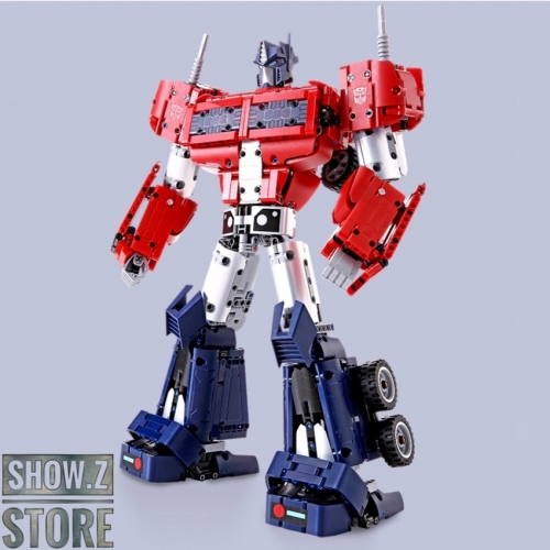Hasbro & Xiaomi Transformers Optimus Prime Building Brick China Store Exclusive