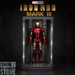 [In Coming]ZT Toys Marvel Licensed 1/9 Iron Man Mark 3 w/ Garage