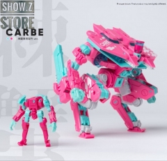 Earnestcore Craft Robot Build RB-05 Caber Pink Version