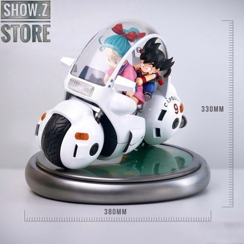[Pre-Order] Blitzway×5PRO Dragon Ball Bulma's Capsule No.9 Bike
