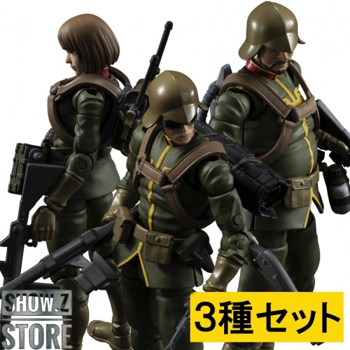 [Pre-Order] MegaHouse 1/18 G.M.G. Principality of Zion Army Regular Soldier Set of 3