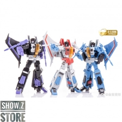 [Pre-Order] Jinbao DF-06 Air Craft: Battlers Starscream, Skywarp & Thundercracker Set of 3