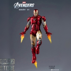 [Pre-Order] ZT Toys Marvel Licensed 1/9 Iron Man Mark 6 w/ Garage