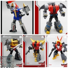 [Pre-Order] MechFansToys MF-21N(BLUE)/22N/23N/24N/25N Swoop(BLUE)/Slag/Sludge/Snarl/Grimlock Set of 5