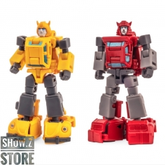 [Pre-Order] NewAge H25 Herbie Bumblebee & H26 Vanishing Point Cliffjumper Set of 2