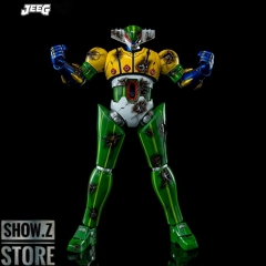 [Pre-Order] King Arts Diecast Scene Series DFS075 Steel Jeeg Battle Damaged Version